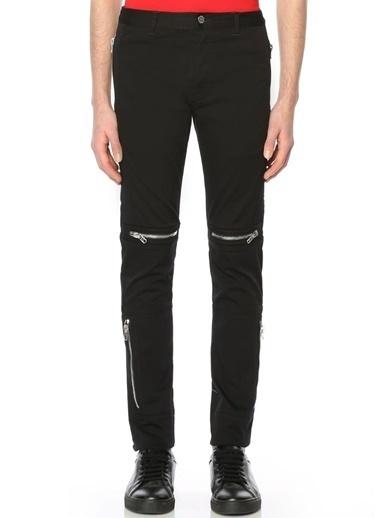 Givenchy Dar Paça Pantolon Siyah